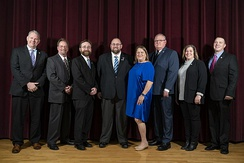 Saco's elected  City Council and Mayor