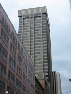 Simpson Tower, the company's former headquarters