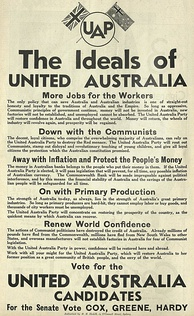 It is easier for voters to evaluate one simple list of policies for each party, like this platform for the United Australia Party, than to individually judge every single candidate.