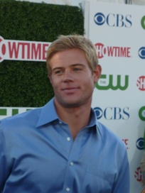 Trevor Donovan portrays tennis player and openly gay student Teddy Montgomery.