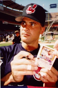Vizquel during his tenure with the Indians in 1996.