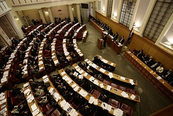 Grand Hall of the Croatian Parliament − Sabor