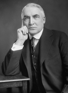 March 4: Warren G. Harding is 29th President of the United States.