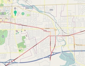 Street map of Ypsilanti
