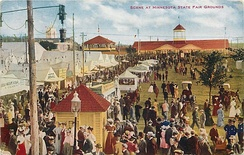 1910 Minnesota State Fair postcard