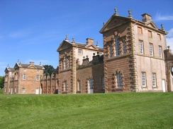 Chatelherault, built by William Adam in 1743 as the Duke of Hamilton's hunting lodge