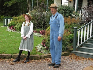 Actors at the Anne of Green Gables Museum on Prince Edward Island, Canada. Since its first publication in 1908, the story of the orphaned Anne, and how the Cuthberts took her in, has been widely popular in the English-speaking world and, later, Japan.
