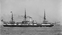 Aquidabã off US coast, probably in 1893.
