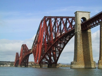 Forth Rail Bridge, Firth of Forth, near Edinburgh, Scotland, UK