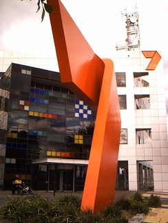 The Seven Network's broadcast centre in the Melbourne Docklands area.