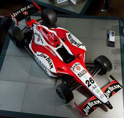 The Dallara IR03 car Wheldon drove to achieve his first IRL victory in the 2004 Indy Japan 300