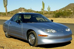 General Motors EV1 electric car (1996–1998), story told in movie Who Killed the Electric Car?