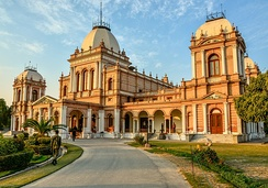The Noor Mahal was the seat of the city's ruling Nawabs.