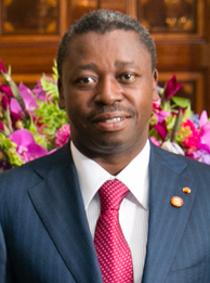 Current president of Togo Faure Gnassingbé since 2005