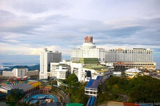 The casino in Genting Highlands, Malaysia own by Genting Group.