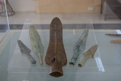 Dong Son spear heads