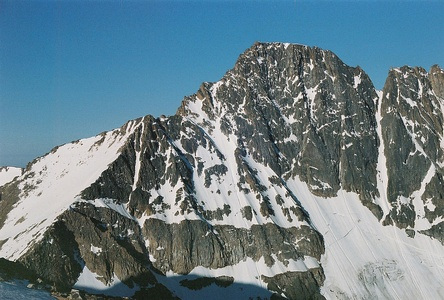 Granite Peak is the highest summit of the Beartooth Range and Montana.