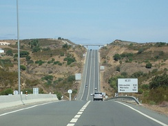 IC27 complementary route in Algarve, Portugal, a single carriageway type via rápida.