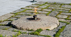Eternal Flame at the Kennedy grave site, Arlington National Cemetery