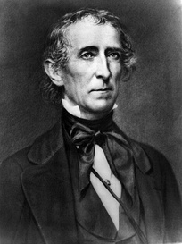 In April 1841, John Tyler became the first person to succeed to the presidency intra-term upon the death of William Henry Harrison.