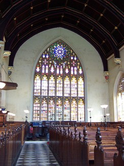 Lincoln's Inn Chapel, traditional venue for the lectures.