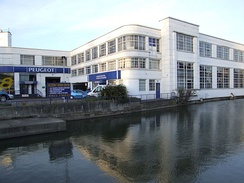 Grade II listed Rootes building in Mill Street, Maidstone