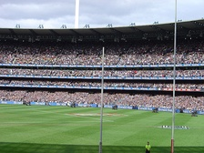 Imagen del Melbourne Cricket Ground, durante la final de la AFL de 2007