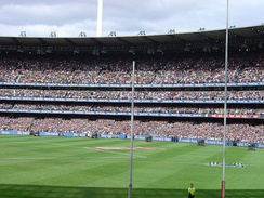 A sold out MCG during the 2007 AFL Grand Final
