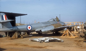 No. 77 Squadron RAAF Gloster Meteor in 1952