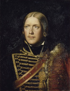 Michel Ney as a sous-lieutenant in the 4th Hussars in 1792, Adolphe Brune (1802–1875), 1834