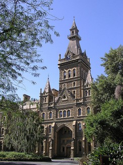 Ormond College de la Universidad de Melbourne.