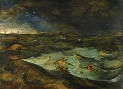 Storm c. 1568, now attributed to Joos de Momper.