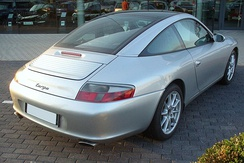 The 996 Targa used the same sliding roof mechanism as its predecessor