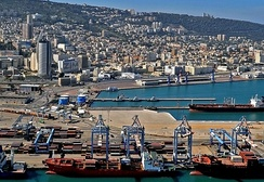 Port of Haifa, Israel
