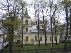 Holy Trinity church in Helsinki, built 1826