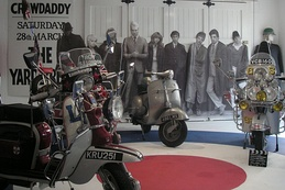Quadrophenia exhibit at the Cotswold Motor Museum in Bourton-on-the-Water in 2007