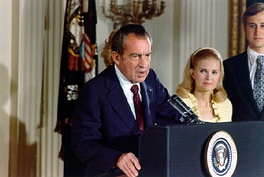 Nixon's farewell speech to the White House staff, August 9, 1974