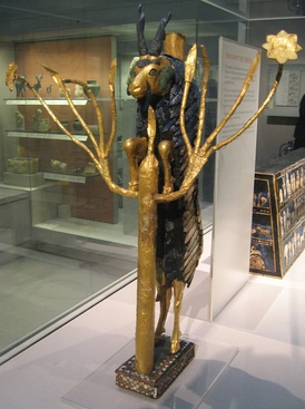 One of two figures of the Ram in a Thicket found in the Royal Cemetery in Ur, 2600–2400 BC