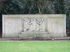 Jacob Epstein's Rima sculpture in Hyde Park
