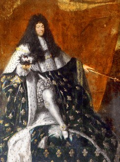 Louis XIV in 1685, the year he revoked the Edict of Nantes