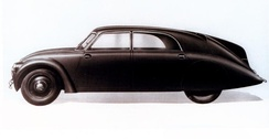 Tatra 77, 1933, the world's first production aerodynamic car