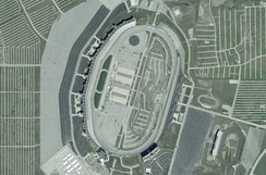 Texas Motor Speedway, the race track where the race was held.