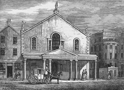 The Theatre Royal, Edinburgh, as it was from 1769–1830