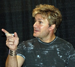 Mignogna at a comic expo in Calgary, Canada, June 2011