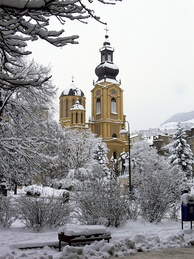 Cathedral during winter