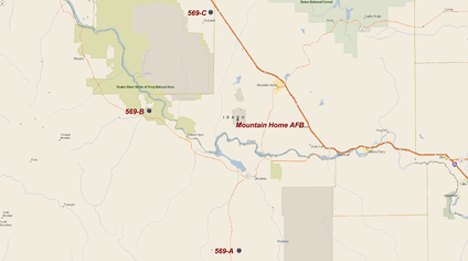 569th Strategic Missile Squadron- Titan I Missile Sites