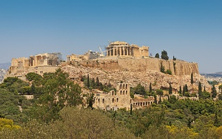 Acropolis of Athens, a noted polis of classical Greece
