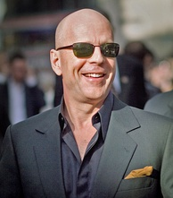 Willis at a Live Free or Die Hard premiere in June 2007