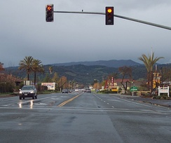 State Route 12 in Sonoma (Broadway)