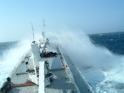 The conditions for navigating a ship can often be challenging.
